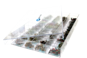 40 Compartment Tray